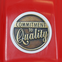Commitment to Quality 2 in. od Circle Labels