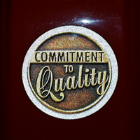 Commitment to Quality  Circle Labels