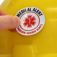 Hard Hat Decal