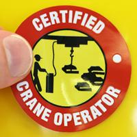 Certified Crane Operator Decal