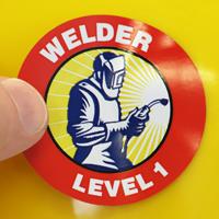 Welder Decal