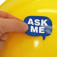 Ask Me Decal
