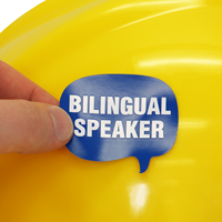 Bilingual Speaker Decal