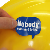 Nobody Gets Hurt Today Decal