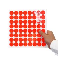 Reflective Stickers in Fluoresecent Orange