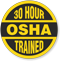 30 Hour OSHA Trained Hard Hat Decals