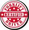 Certified Forklift Driver Hard Hat Decals